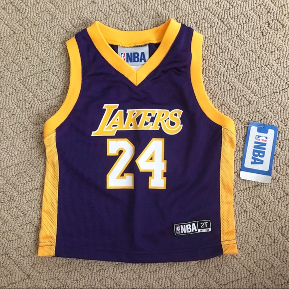 NWT NBA Lakers Bryant 24 Jersey Toddler